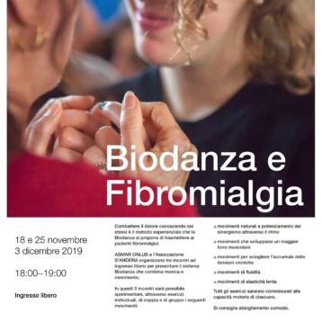 ASMAR ONLUS e l'Associazione S'ANDERA organizzano tre incontri ad ingresso libero per presentare la Biodanza